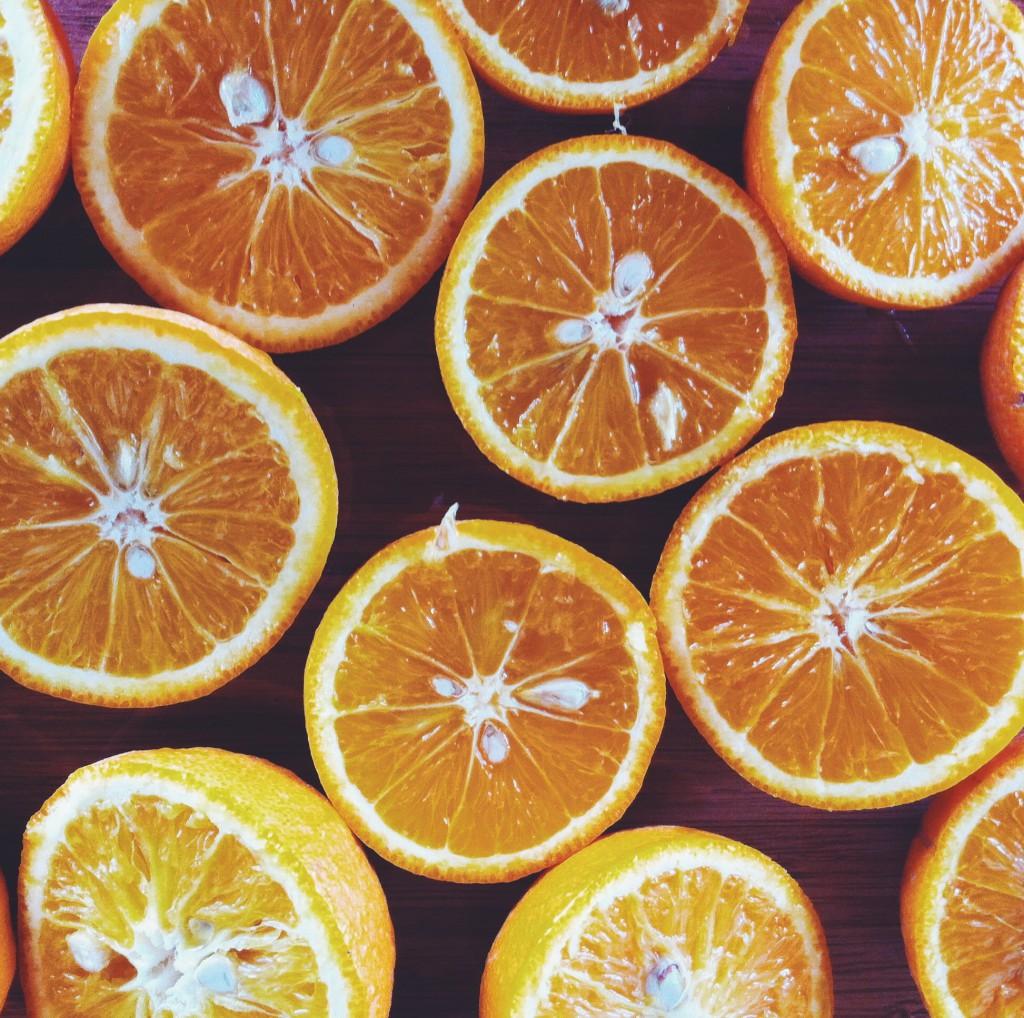 Köyceğizin portakalları, portakal ağaçları bir başka...