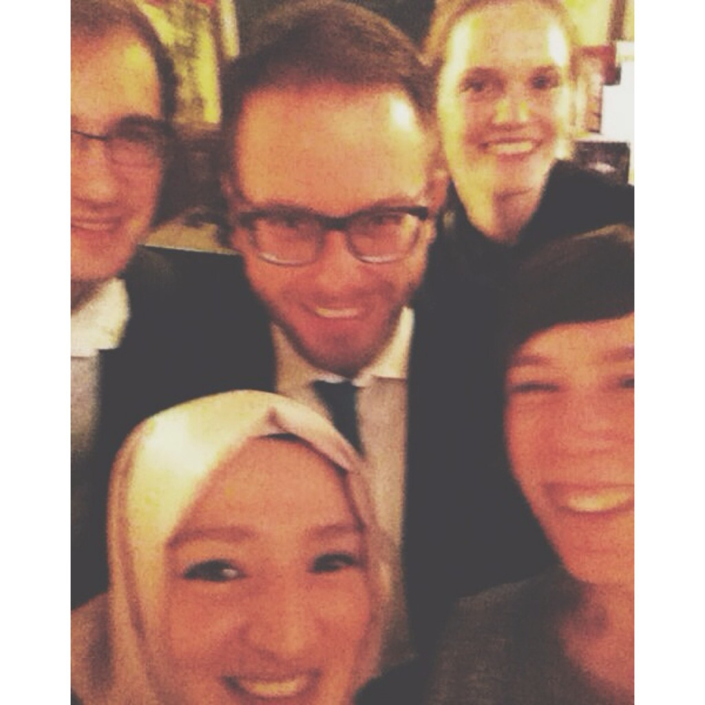 Obligatory Selfie!  w/ Chris Köver (courtesy), Ruben Karschnik, Fabian Reinbold & Co